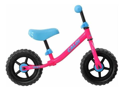 bicicleta de niña caloi skip 1 rosada aro 10  17 // bamo