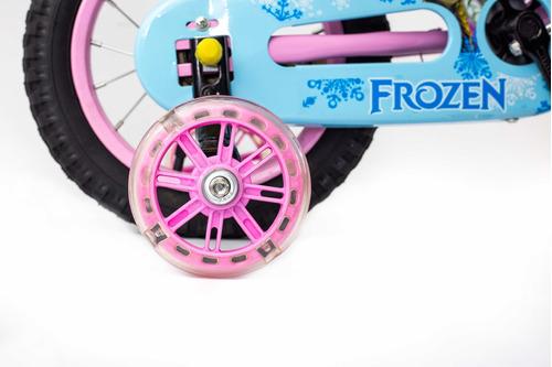 bicicleta de niña de frozen rin 12 cod. 101#
