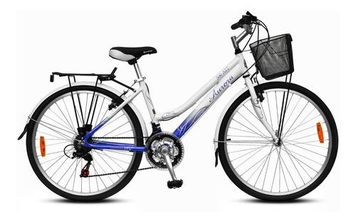 bicicleta de paseo aurora ona rodado 26 con cambios aluminio