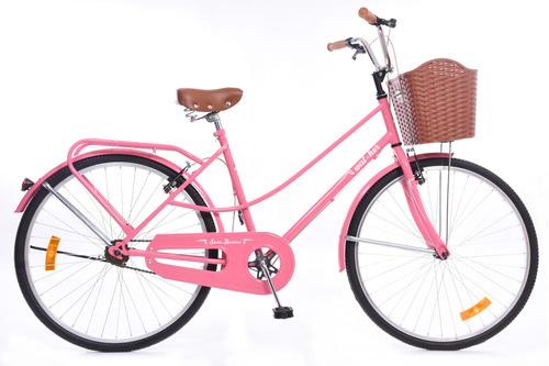 bicicleta de paseo dama santabarbara rodado 26