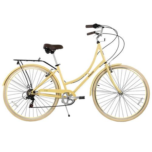 bicicleta de paseo philco sicilia rodado 28 beige tio musa