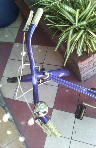bicicleta, de paseo rodado 20, marca topbike