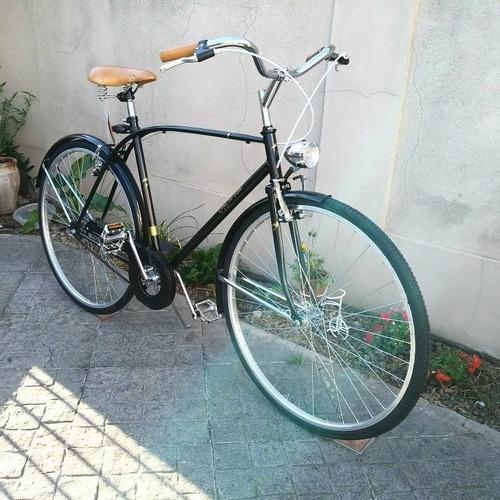 bicicleta de paseo vintage hombre - tipo retro - rodado 28