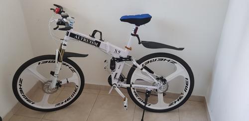 bicicleta de paseo y/o montañera ultimo modelo, plegable.