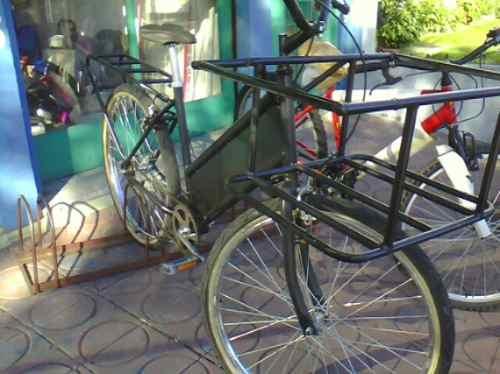 bicicleta de reparto reforazada okm hasta agotar stock