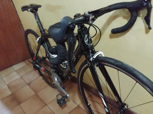 bicicleta de ruta blue de carbón rd1 small
