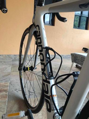 bicicleta de ruta cannondale supersix evo 2017 para dama 44