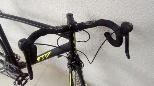bicicleta de ruta gw, marco lumen, tenedor de carbono linda!