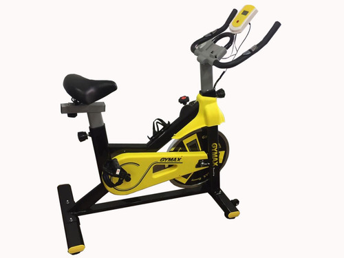 bicicleta de spinning gymax 10kg eliptica caminado