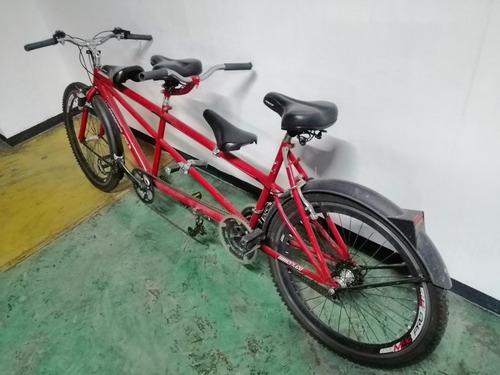 bicicleta doble