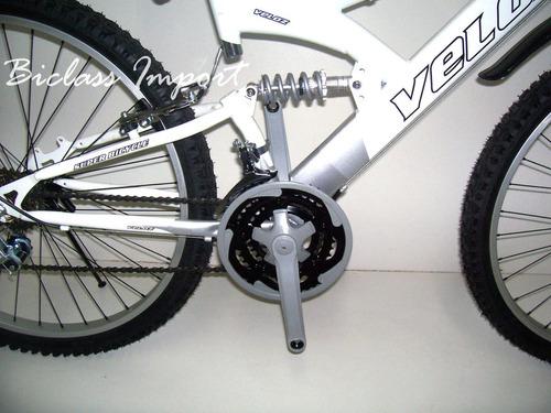 bicicleta doble amortiguador 18v aro 26 componentes taiwan