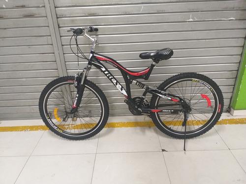 bicicleta doble amortiguador montañera aro 26