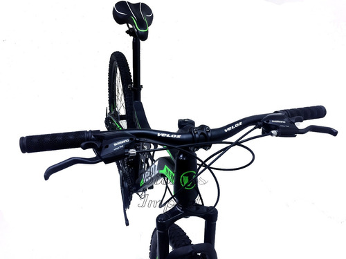bicicleta doble amortiguador shimano 21v rapidfire frenodisc