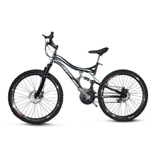 bicicleta doble suspension gw dione 8.1 triplato freno disco