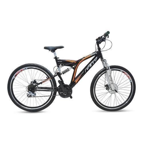 bicicleta doble suspension gw sinope triplato freno disco 18