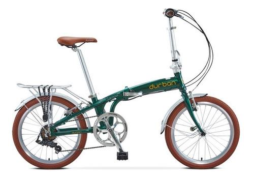 bicicleta dobrável durban sampa pro verde