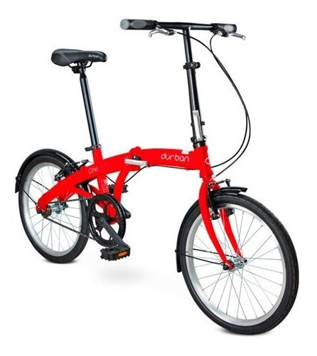bicicleta dobrável one