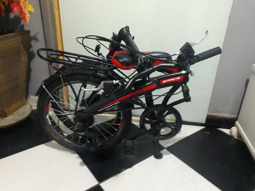 bicicleta dobrável pouco uso