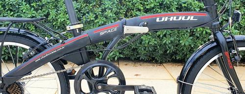 bicicleta dobrável shimano 7v direto importador linda