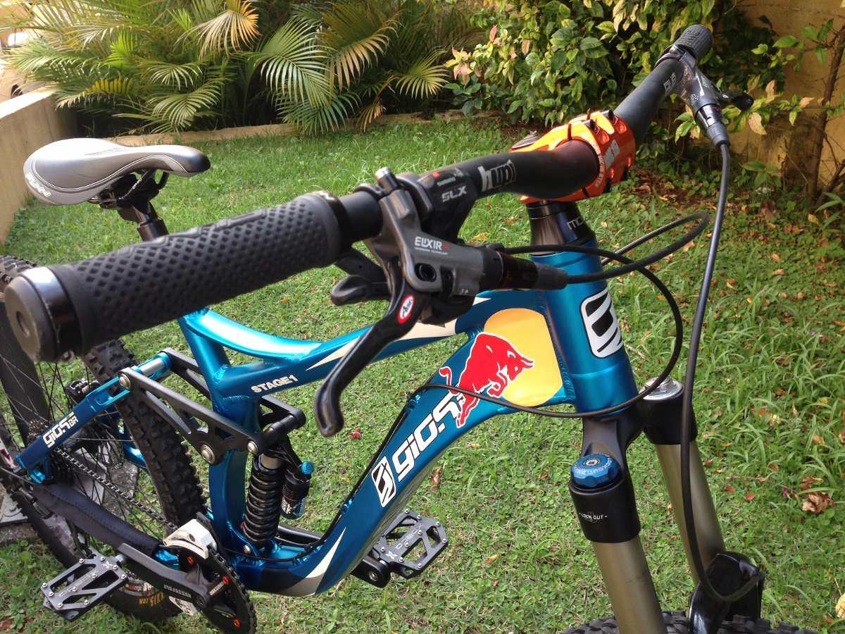 Adesivo De Parede Japones ~ Bicicleta Downhill Bike Full Gios Stage 1 Estado De Zero R$ 5 490,00 em Mercado Livre