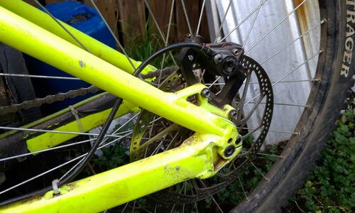 bicicleta downhill iron horse sunday