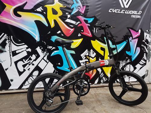 bicicleta  e bike electrica beta smart  plegable hasta 22/9