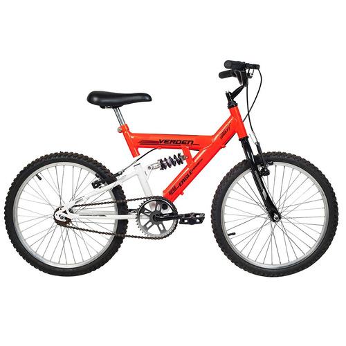 bicicleta eagle aro 20 laranja e branco - verden bikes
