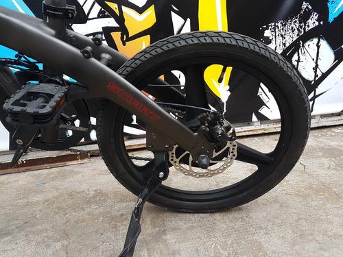 bicicleta ebike electrica beta smart plegable aluminio 19/10