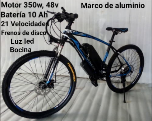 bicicleta eléctrica 350w 48v crown electric!