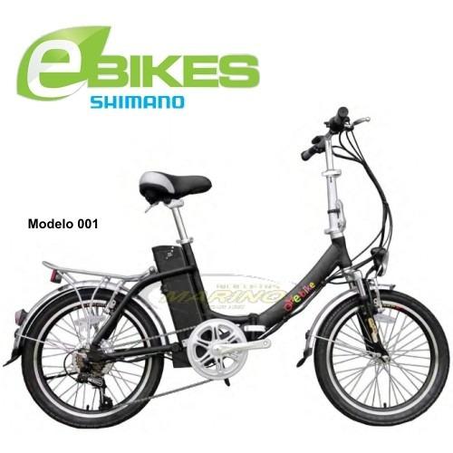 bicicleta eléctrica 350w plegable 20 alum.m03 service gratis