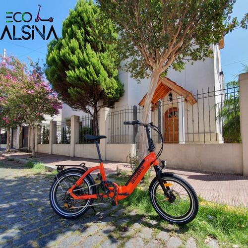 bicicleta eléctrica aigeni bateria 10 ah / 110kg máximo