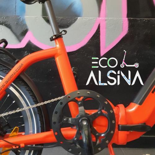 bicicleta eléctrica aigeni  / plegable bateria litio