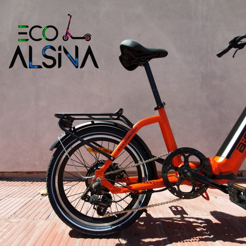 bicicleta eléctrica aigeni  / plegable certificación europea