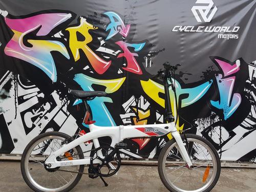 bicicleta electrica beta b52 rodado 20 15kg 19/10