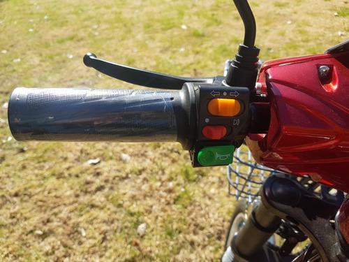 bicicleta electrica (bicimoto) doble suspensión, nuevas