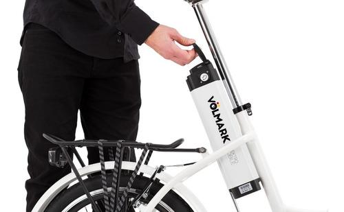 bicicleta eléctrica elektra / grupo tornado / volmark