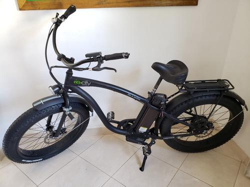 bicicleta eléctrica endevour 500w e-city aktelectric