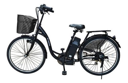 bicicleta electrica etrip e-bike negra