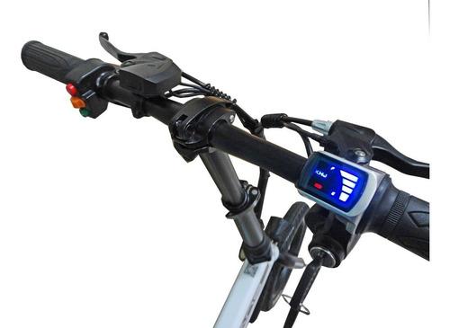 bicicleta eléctrica lians de aluminio modelo plegable