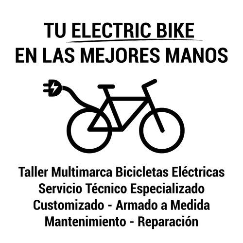 bicicleta eléctrica mantenimiento reparación service taller