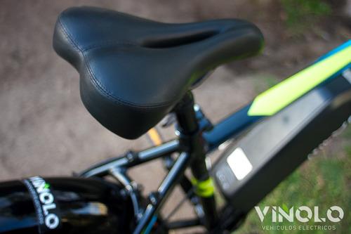bicicleta electrica megalite  2620 litio extraíble viñolo /a
