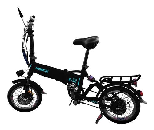 bicicleta eléctrica mobox plegable volt e-16 rodado 16 ctas