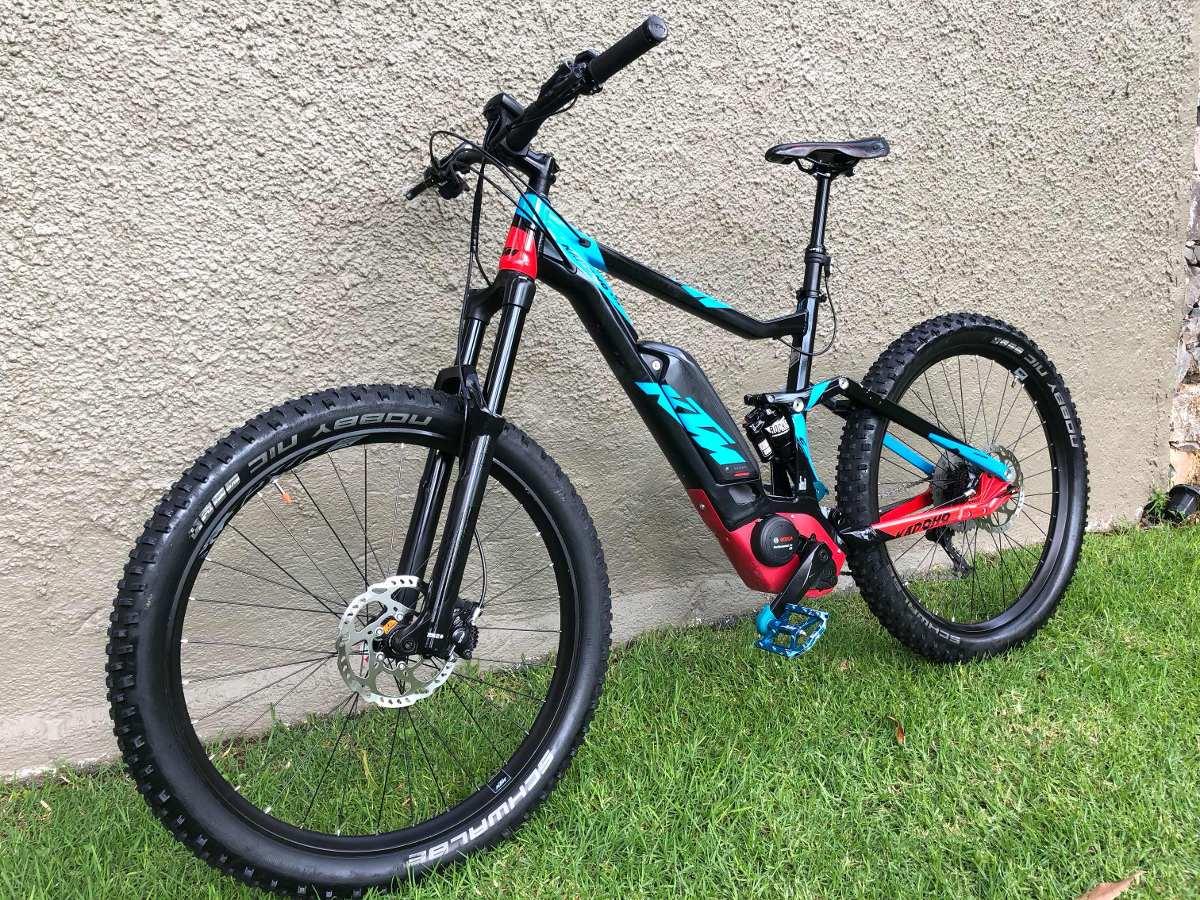 para toda la familia estilo popular oferta especial Bicicleta Eléctrica Montaña Doble Suspensión Ktm - $ 85,000.00