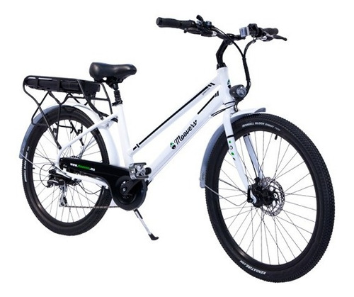 bicicleta eléctrica moovers.mx urbana motor 500w 48v 10.4ah