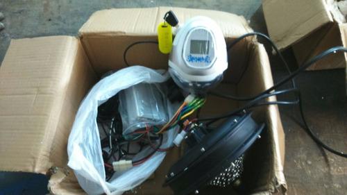 bicicleta electrica motor kit de 350w frenos regenerativos