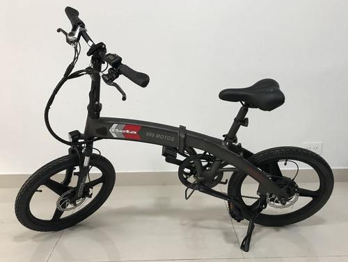 bicicleta eléctrica plegable 0km beta smart 2018 999 motos