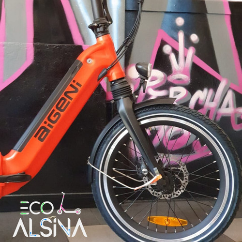 bicicleta eléctrica plegable aigeni ahora 12 cuotas $5500