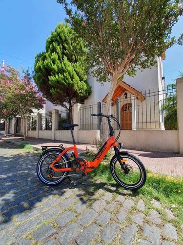 bicicleta eléctrica plegable aigeni bateria 10 ah