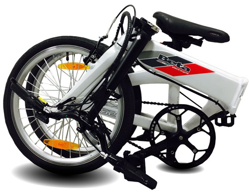 bicicleta electrica plegable aluminio  b52