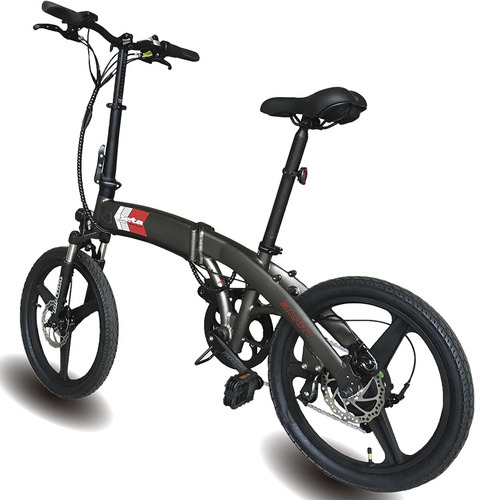 bicicleta electrica plegable aluminio beta smart